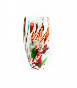 VASE OVAL H30 D 13 MIXED COLOURS